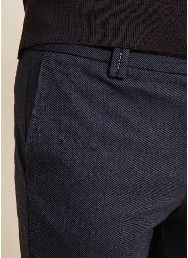Bisse Regular Fit 4 Cep Kanvas Pantolon Gri